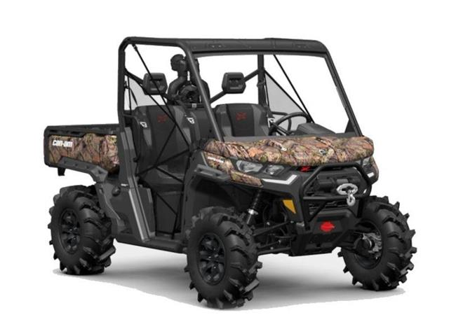 New 2021 Can-Am Defender X mr HD10 Mossy Oak Break-Up Country Camo   - YORKTON - FFUN Motorsports Yorkton