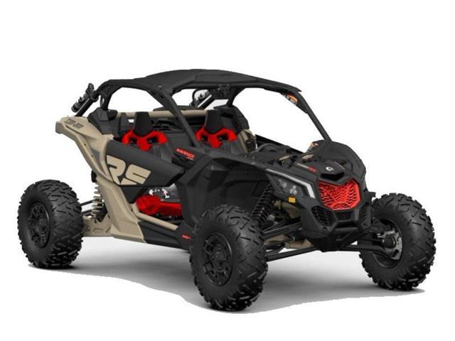 New 2021 Can-Am Maverick X3 X rs Turbo RR Desert Tan / Carbon Blac   - SASKATOON - FFUN Motorsports Saskatoon
