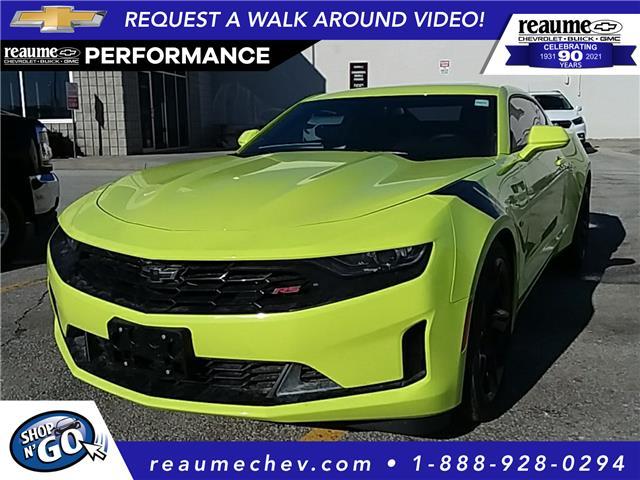 2021 Chevrolet Camaro 1LT (Stk: 21-0234) in LaSalle - Image 1 of 6