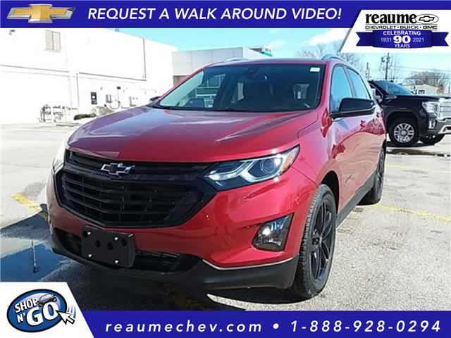2021 Chevrolet Equinox LT (Stk: 21-0391) in LaSalle - Image 1 of 5
