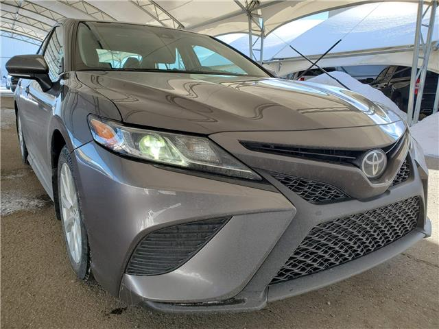 2019 Toyota Camry SE 4T1B11HK3KU767950 187452 in AIRDRIE
