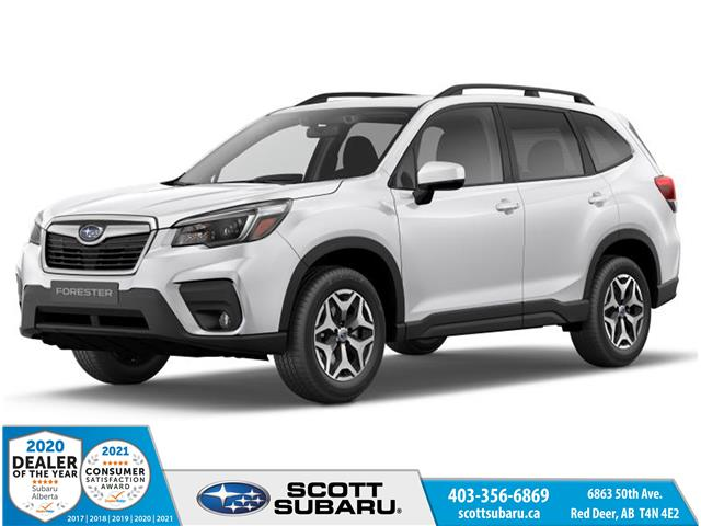 2021 Subaru Forester Convenience (Stk: 491330) in Red Deer - Image 1 of 10