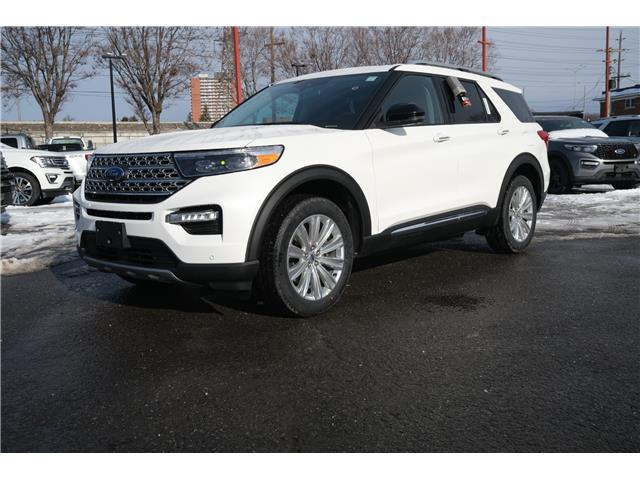 2021 Ford Explorer Limited (Stk: 2101060) in Ottawa - Image 1 of 20