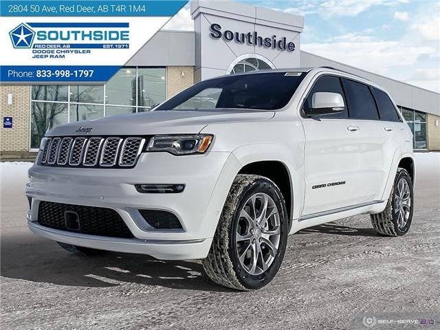 2021 Jeep Grand Cherokee Summit (Stk: GC2114) in Red Deer - Image 1 of 25