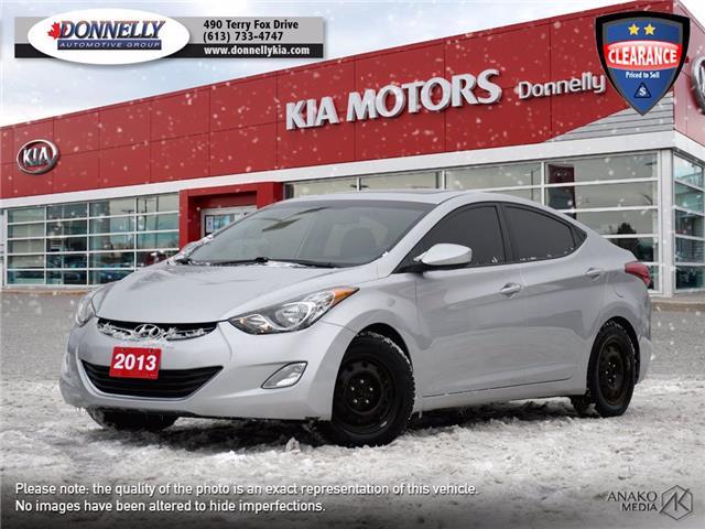 2013 Hyundai Elantra GLS (Stk: KV222A) in Ottawa - Image 1 of 25