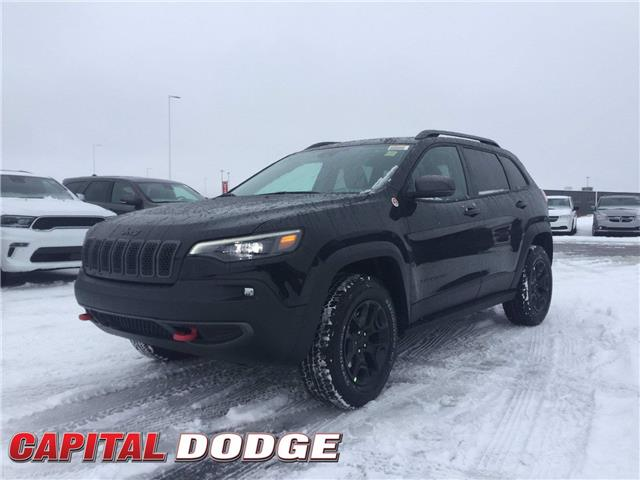 2021 Jeep Cherokee Trailhawk (Stk: M00288) in Kanata - Image 1 of 25
