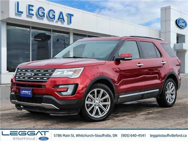 2017 Ford Explorer Limited (Stk: F115422A) in Stouffville - Image 1 of 29