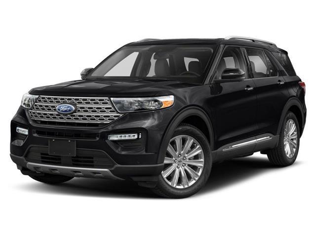 2021 Ford Explorer XLT Black