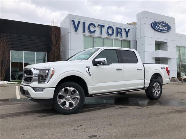 2021 Ford F-150 Platinum (Stk: VFF19999) in Chatham - Image 1 of 17