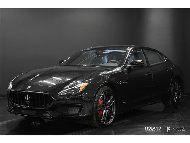 2021 Maserati Quattroporte S Q4 GranSport 3.0L (Stk: M2128) in Montréal - Image 1 of 30