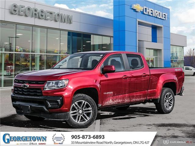 2021 Chevrolet Colorado WT (Stk: 33054) in Georgetown - Image 1 of 28