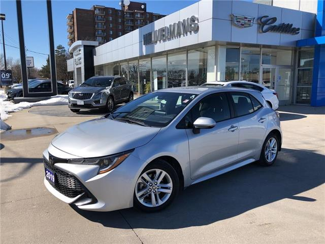 2019 Toyota Corolla Hatchback Base (Stk: 21020A) in Chatham - Image 1 of 20