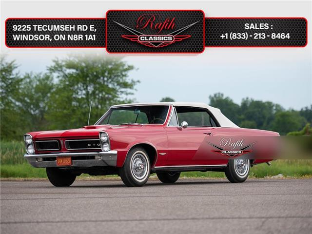 1965 Pontiac Tempest LeMans GTO Convertible  (Stk: classi) in Windsor - Image 1 of 16