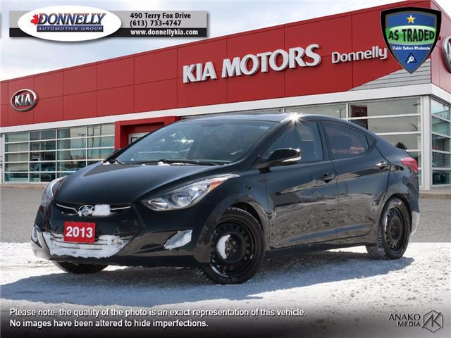 2013 Hyundai Elantra Limited (Stk: KT504A) in Ottawa - Image 1 of 24