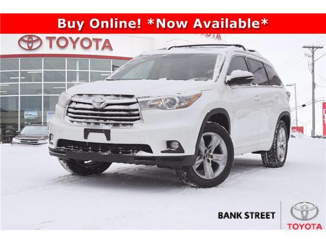 2016 Toyota Highlander Limited (Stk: L28281) in Ottawa - Image 1 of 29