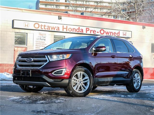 2018 Ford Edge SEL (Stk: H88550) in Ottawa - Image 1 of 29