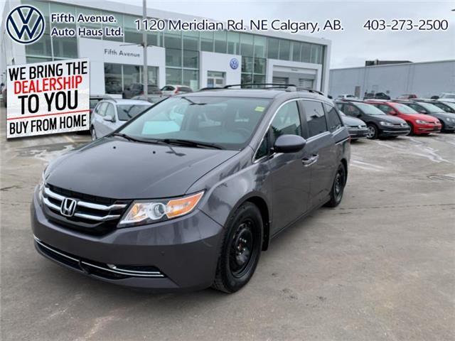 2014 Honda Odyssey EX-L (Stk: 21062B) in Calgary - Image 1 of 27