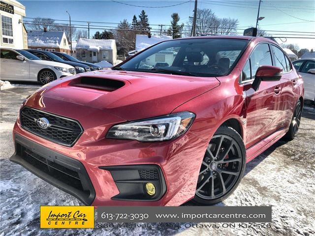 2018 Subaru WRX Sport-tech (Stk: 807554) in Ottawa - Image 1 of 26