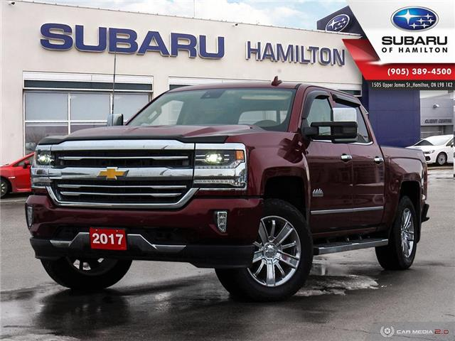 2017 Chevrolet Silverado 1500 High Country (Stk: U1654) in Hamilton - Image 1 of 29