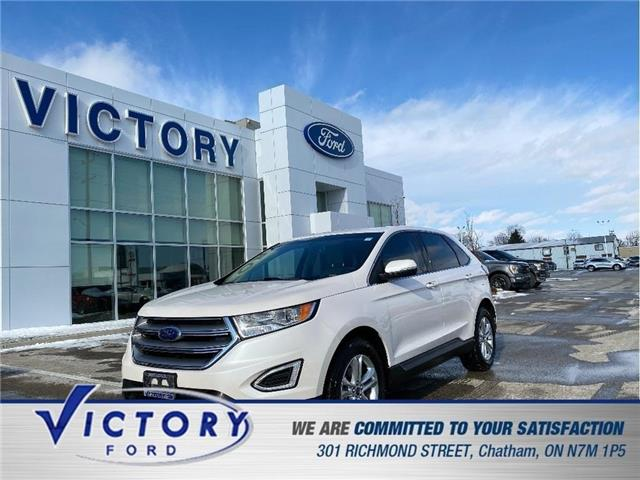 2018 Ford Edge SEL (Stk: V6591LB) in Chatham - Image 1 of 21