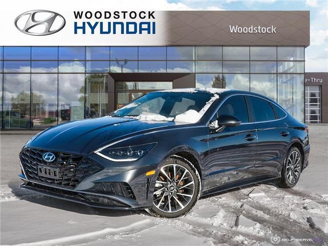 2020 Hyundai Sonata Ultimate (Stk: HD20046) in Woodstock - Image 1 of 27