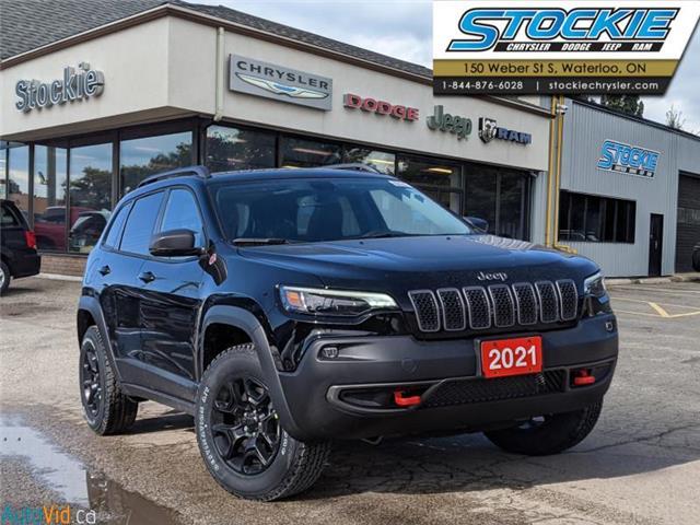 2021 Jeep Cherokee Trailhawk (Stk: 35997) in Waterloo - Image 1 of 15