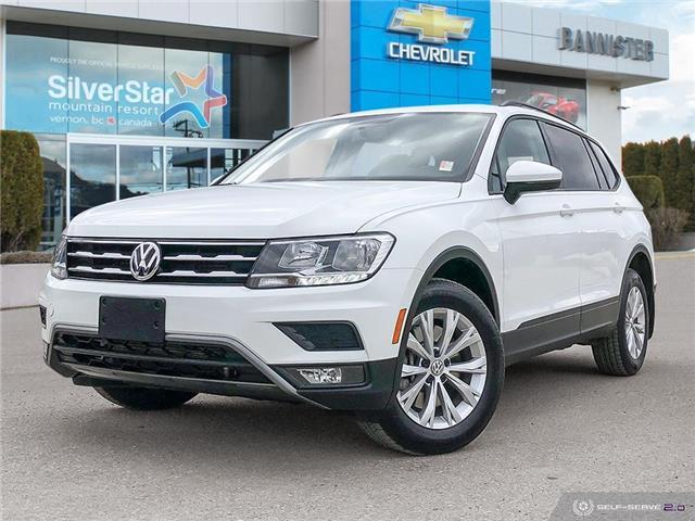 2018 Volkswagen Tiguan Trendline (Stk: 21166A1) in Vernon - Image 1 of 26