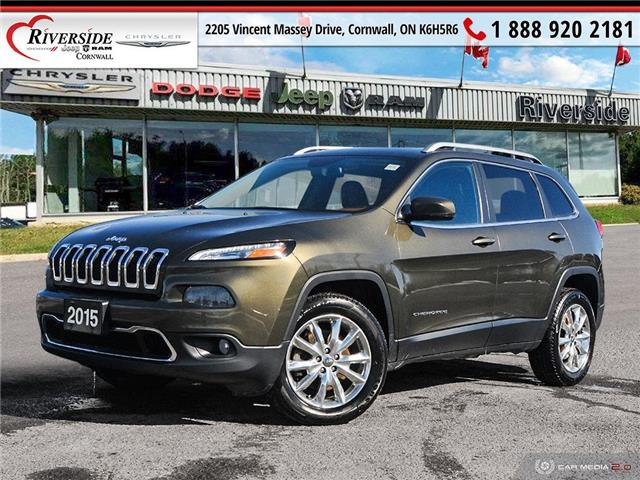 2015 Jeep Cherokee Limited (Stk: N20042A) in Cornwall - Image 1 of 27