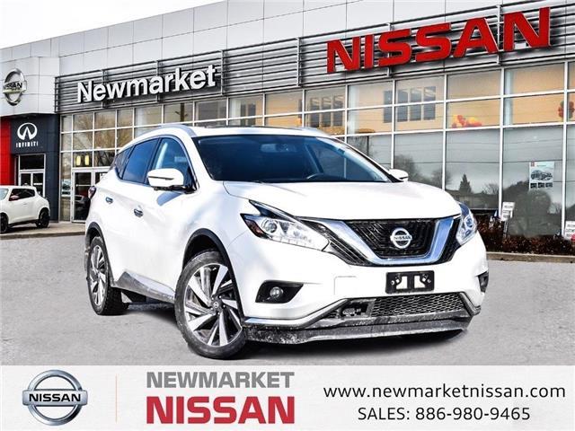 2017 Nissan Murano Platinum (Stk: UN1207) in Newmarket - Image 1 of 27