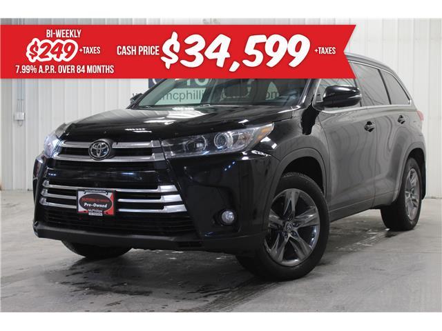 2018 Toyota Highlander Limited (Stk: S081825A) in Winnipeg - Image 1 of 26