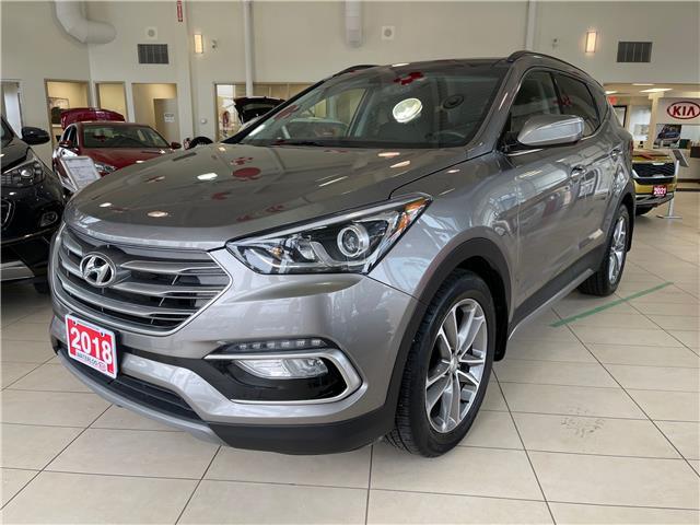 2018 Hyundai Santa Fe Sport 2.0T Limited (Stk: P20059) in Waterloo - Image 1 of 22