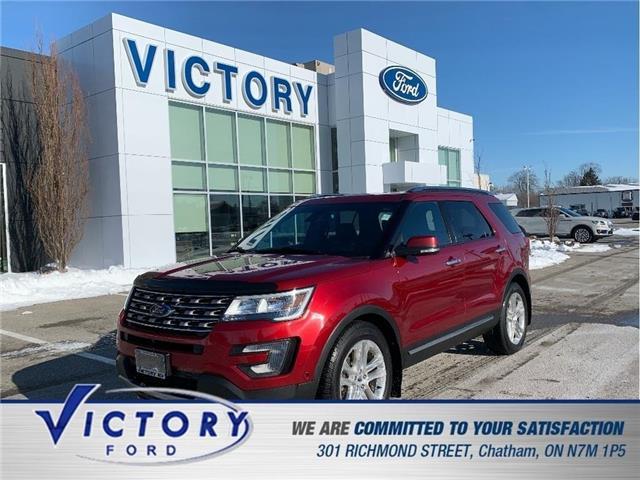 2017 Ford Explorer Limited (Stk: V10466A) in Chatham - Image 1 of 29