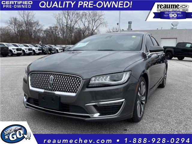 2017 Lincoln MKZ Select 3LN6L5D96HR641118 21-0077A in LaSalle