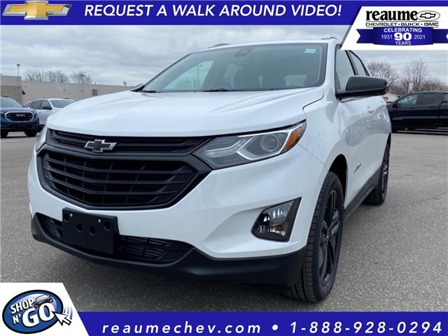 2021 Chevrolet Equinox LT (Stk: 21-0182) in LaSalle - Image 1 of 9