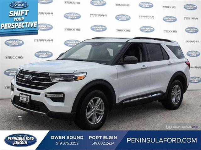 2021 Ford Explorer XLT (Stk: 21EX02) in Owen Sound - Image 1 of 24
