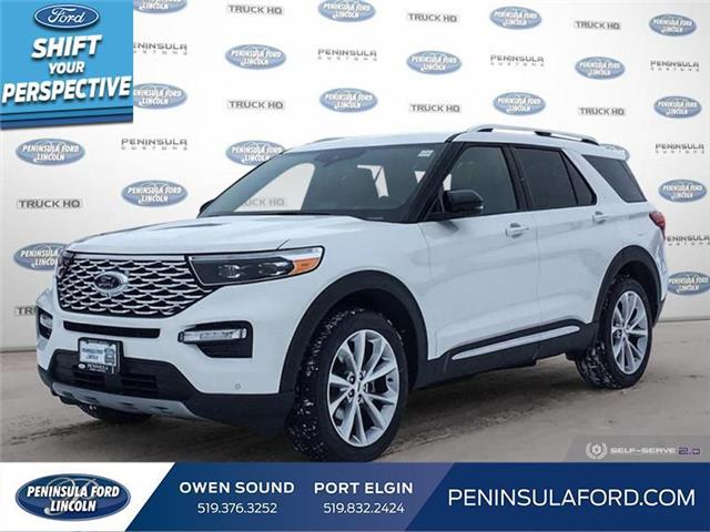 2021 Ford Explorer Platinum (Stk: 21EX21) in Owen Sound - Image 1 of 25