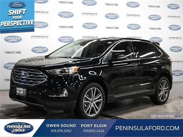 2021 Ford Edge Titanium (Stk: 21ED02) in Owen Sound - Image 1 of 25