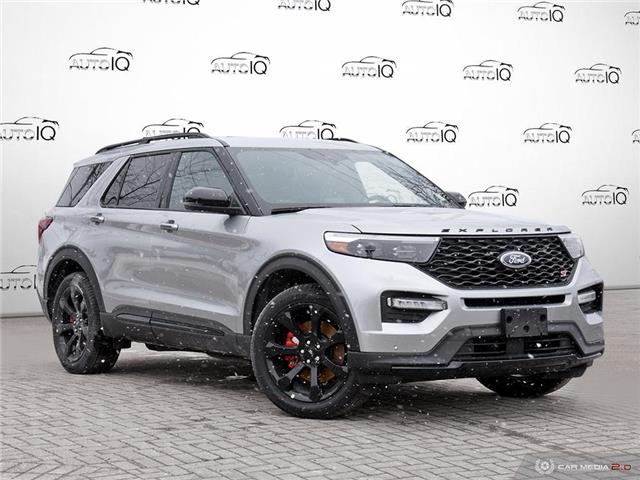 2021 Ford Explorer ST Silver