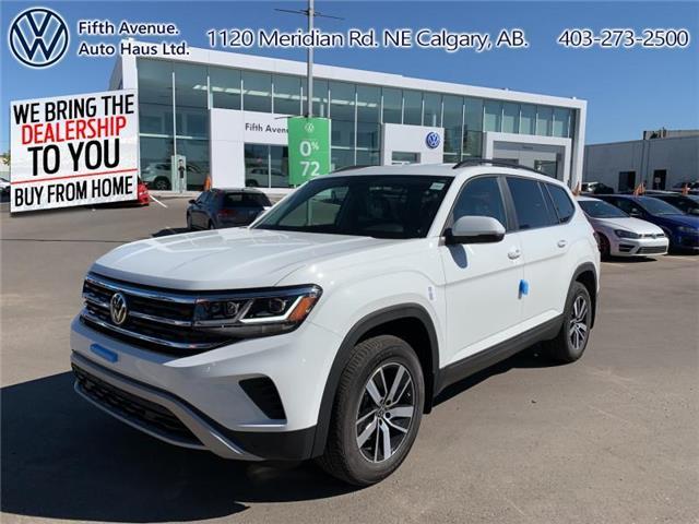 2021 Volkswagen Atlas 3.6 FSI Comfortline (Stk: 21012) in Calgary - Image 1 of 29