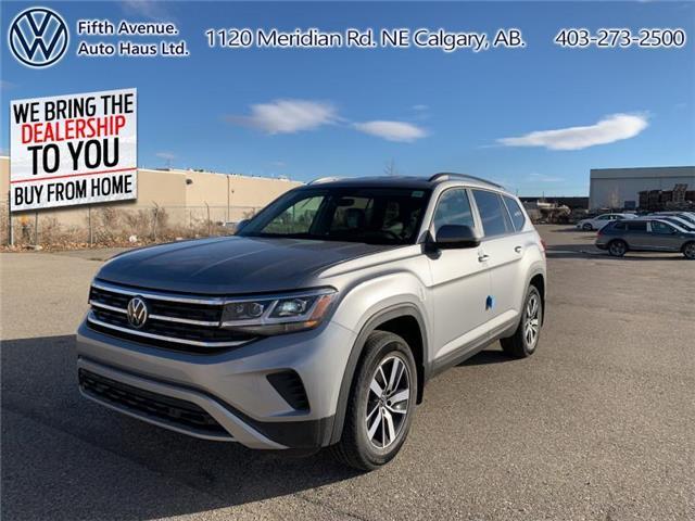 2021 Volkswagen Atlas 3.6 FSI Comfortline (Stk: 21040) in Calgary - Image 1 of 30