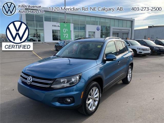 2017 Volkswagen Tiguan Wolfsburg Edition (Stk: 3614) in Calgary - Image 1 of 24