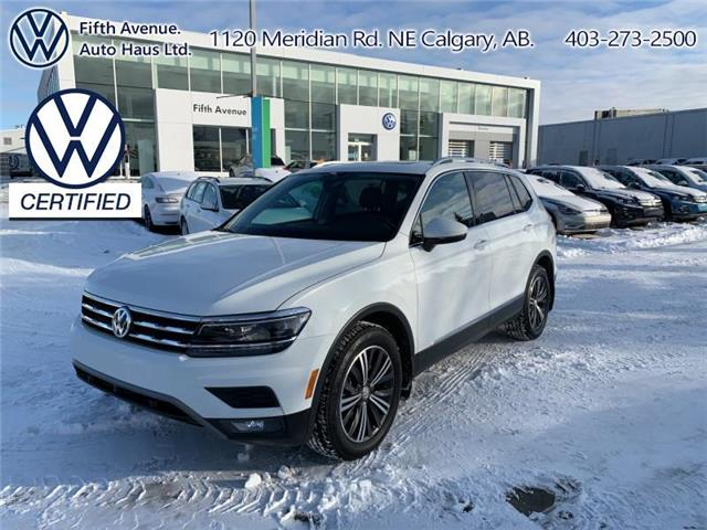 2018 Volkswagen Tiguan Highline (Stk: 3613) in Calgary - Image 1 of 30