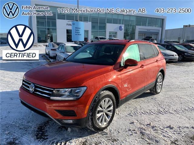 2018 Volkswagen Tiguan Trendline (Stk: 3639) in Calgary - Image 1 of 28