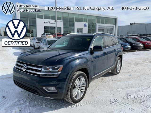 2019 Volkswagen Atlas 3.6 FSI Execline (Stk: 3642) in Calgary - Image 1 of 30