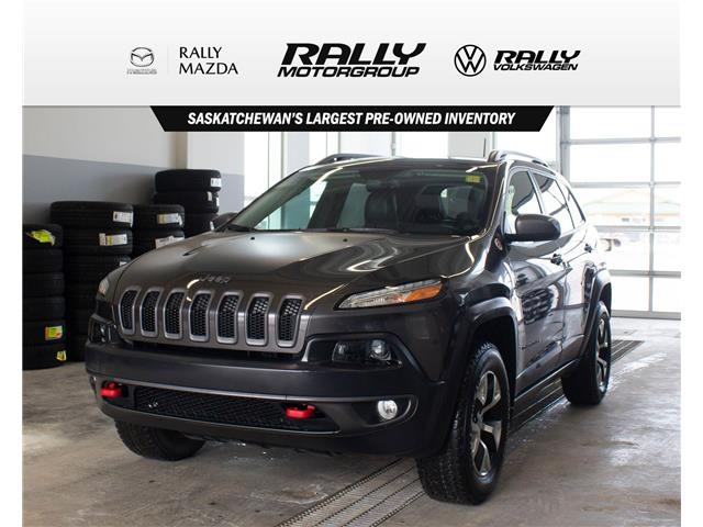 2016 Jeep Cherokee Trailhawk (Stk: V1488) in Prince Albert - Image 1 of 14
