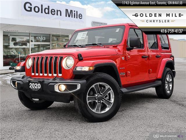2020 Jeep Wrangler Unlimited Sahara (Stk: P5132) in North York - Image 1 of 25