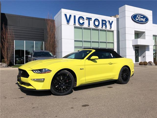 2021 Ford Mustang GT Premium (Stk: VMU20117) in Chatham - Image 1 of 17