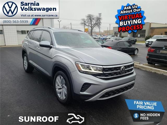 2021 Volkswagen Atlas 3.6 FSI Highline (Stk: V2146) in Sarnia - Image 1 of 14