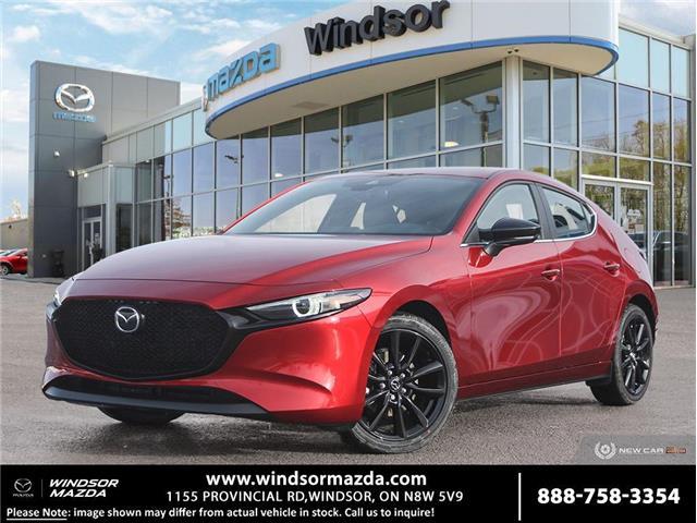 2021 Mazda Mazda3 Sport GT w/Turbo (Stk: M322316) in Windsor - Image 1 of 23