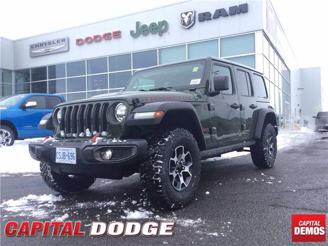 2021 Jeep Wrangler Unlimited Rubicon (Stk: M00256) in Kanata - Image 1 of 26